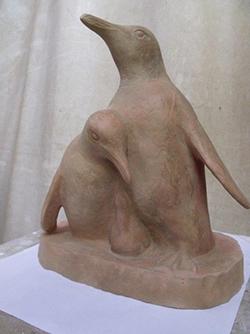 ワークショップ・粘土でつくる動物たち
